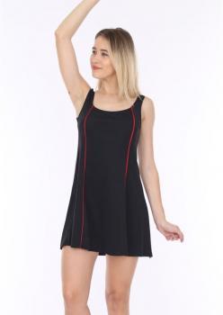 Siyah Tela Model Elbise Mayo Hmm28