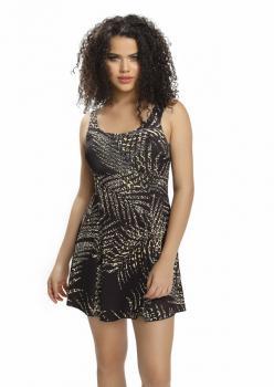 Yaldız Desen Elbiseli Mayo 9002/614