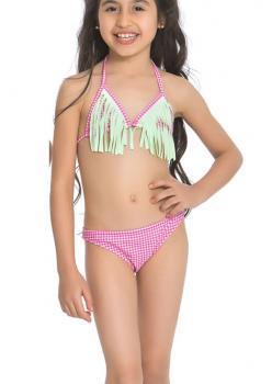 Püsküllü Üçgen Bikini