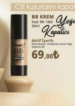 HOMMLİFE BB KREM 50+ SPF 30 ML YOĞUN KAPATICI