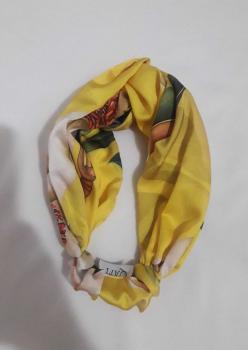 Sarı Desenli Bandana