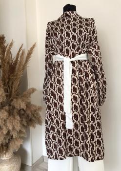 Versace Desen İpek Tunik T001