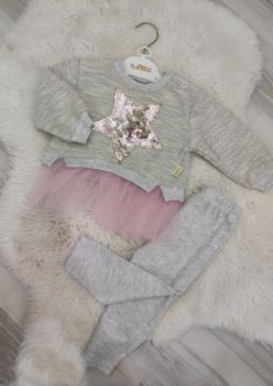 Kız Bebek Tüllü Takım