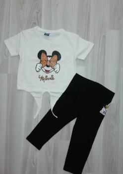 Mickey Mouse Kız Çocuk Tayt Takım