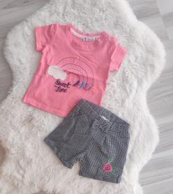 Kız Bebek Şort takım
