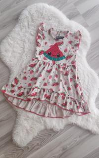 Karpuzlu Kız Çocuk elbise