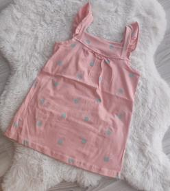 Kız Çocuk Pamuklu Penye Elbise