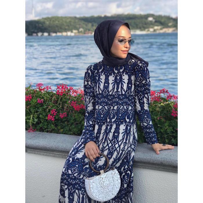 Yazlık Alaçatı Tarzı Uzun Bayan Elbise