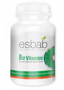 Esbab B12 Vitamini İçeren Takviye Edici Gıda - Kapsül