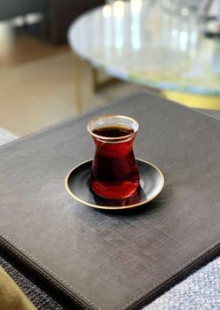The Mia Çay Seti 12 Parça Siyah