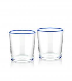 The Mia Su Bardağı 2 Li Set 380 cc Mavi