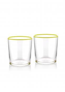 The Mia Su Bardağı 2 Li Set 380 cc Sarı