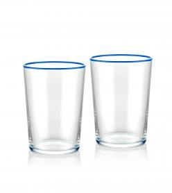 The Mia Su Bardağı 2 Li Set 500 cc Mavi
