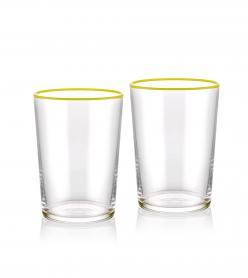 The Mia Su Bardağı 2 Li Set 500 cc Sarı