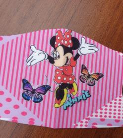 Çocuk Maske Minnie Desen