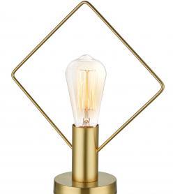Abajur Gold Dörtgen 35 x 28 x 12 Cm