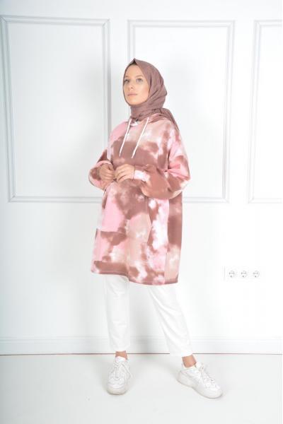 İkili Tunik Takım Desenli satın al