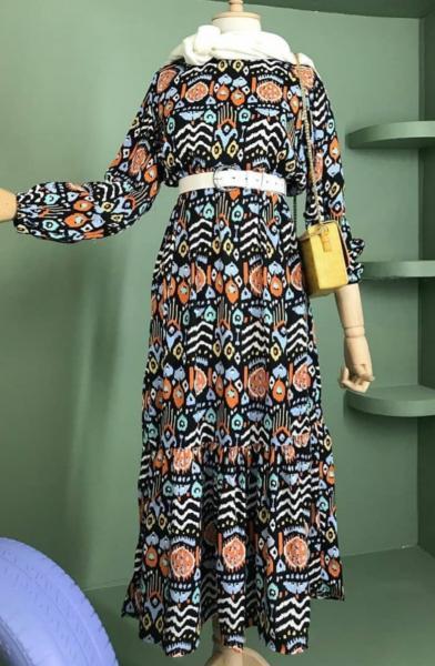 Desenli Elbise satın al