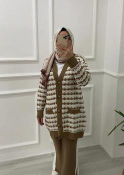 Channel Model Camel Bayan Hırka