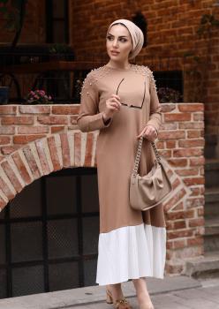 Camel Pilise Elbise ÖB001