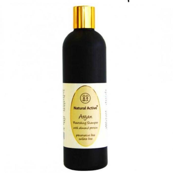 Sulfat İçermeyen (Sulfate Free) Argan Yağlı Şaç Bakım Şampuanı