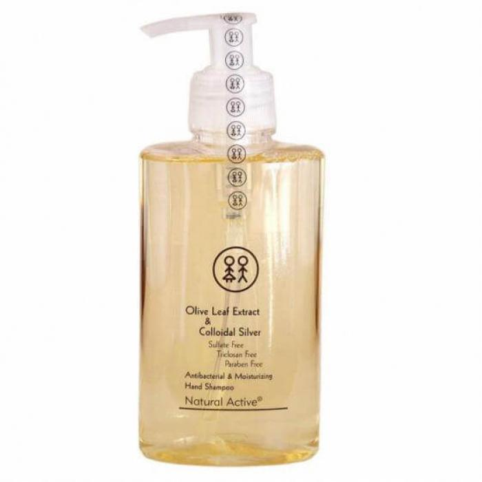 Zeytinyağlı, sulfat, paraben ve triklosan içermeyen bitki bazlı el şampuanı