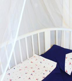 Bebek Nevresim Takımı Lacivert Minik Yıldız