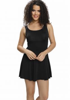 Düz Şortlu Elbise Mayo 9003 - SİYAH