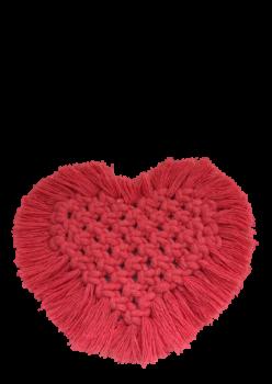 Kalpli Makrome Bardak Altlığı %100 El Emeği