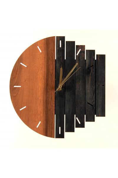 Meleğim 50 cm Ahşap Duvar Saati 9 satın al