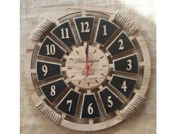 Meleğim 40 cm Ahşap Duvar Saati