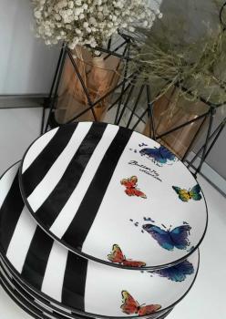 Butterfly Servis Tabağı