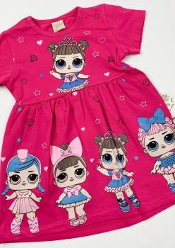 Lokko Baby Penye Kız Çocuk Elbise