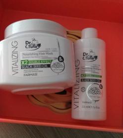 Farmasi Çörekotu Yağı Şampuan ve  Saç Maskesi
