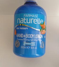 Farmasi deniz mineralli 300 ml vücut losyonu