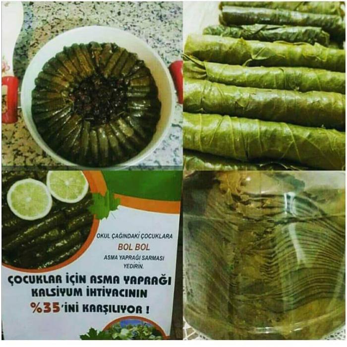 Tokat'a Özel Asma Yaprağı  1 kg