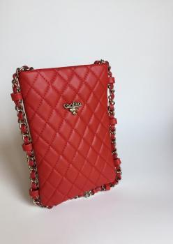 Kırmızı Minicik Esso Çanta