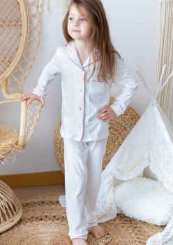 Masal Pembe Çocuk Pijama Takımı