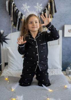 Darky Unisex Çocuk Pijama Takımı
