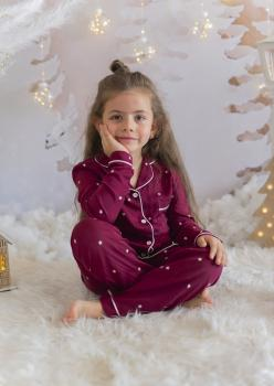 Morello Unisex Çocuk Pijama Takımı