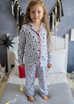 Snowy Unisex Çocuk Pijama Takımı