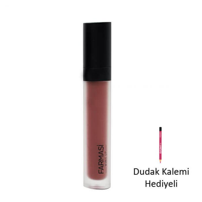 Hediyeli Ürün - FARMASİ MAT LİKİT RUJ 4 ML- 08 SUNSET BREEZE
