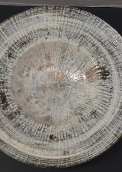 Seramik eskitme duvar tabağı