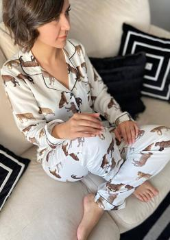 Lax Bayan Pijama Takımı