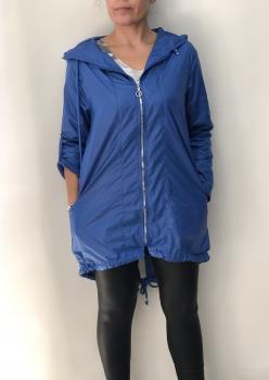 Saks Mavisi Bayan Yağmurluk