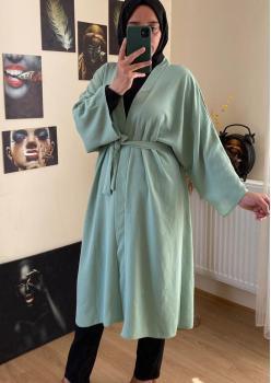 Yeşil Bayan Kimono cc009