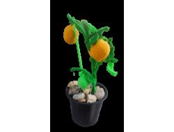 Amigurumi Yıkanabilir Sağlıklı Limon Ağacı