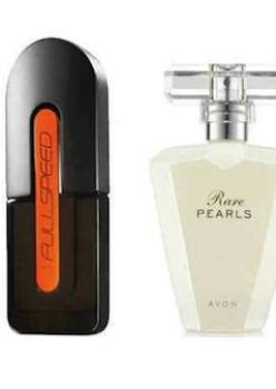 Avon Full Speed Edt 75 Ml Erkek ve Rare Pearls Edp 50 Ml Bayan