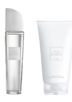 Avon Pur Blanca Bayan Parfüm EDT 50 Ml + Vücut Losyonu