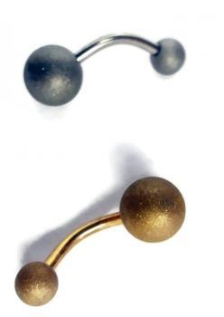 Cerrahi Çelik Lazer İşleme Mat Piercing